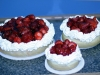 Fresh Strawberry Cheesecakes