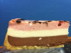 Neapolitan Cheesecake Slice