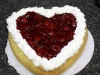 Valentine's Cherry Cheesecake