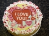 Valentine's Cheesecake with Image